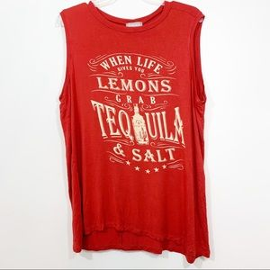 Lovesick Tequila Muscle T-shirt